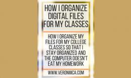 How I Organize Digital Files for my Classes. www.veroniiiica.com