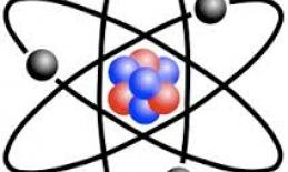 The image is of an atom.