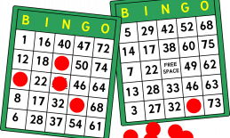 two bingo cards