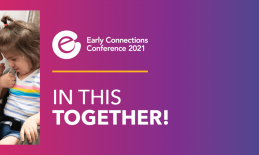 Early Connections banner image of a father and daughter