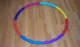 A picture of a hula hoop