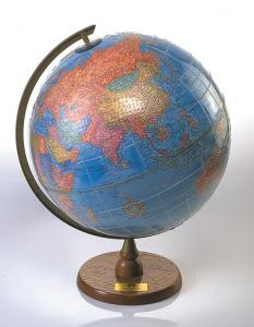 The image is of the tactile and visual APH globe.
