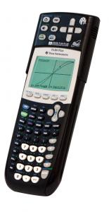 Image is of the Orion TI-84 Plus Talking Graphing Calculator