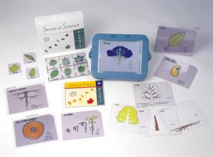 The image is of the components of the Sense of Science -Plants kit
