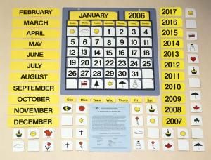 The image is of the Classroom Calendar Kit