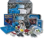 The picture is of the FOSS Magnetism and Electricity kit