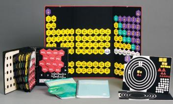 The image is of the AZER Periodic Table Study Set .
