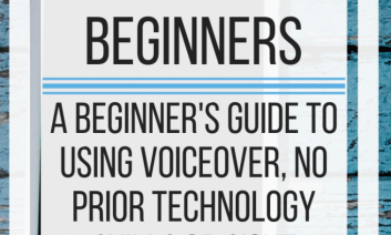 How to use VoiceOver for Beginners. www.veroniiiica.com