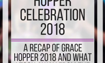 My Experience at Grace Hopper Celebration 2018. www.veroniiiica.com