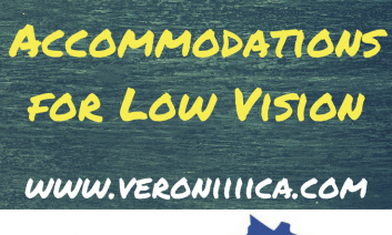State Standardized Test/SOL Accommodations for low vision.  www.veroniiica.com
