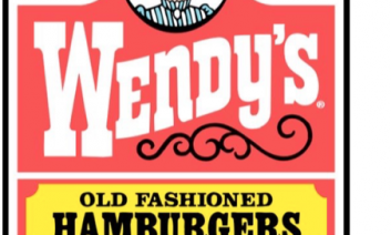 "Wendy's logo with text below: ""Wendy's has a little girl."""