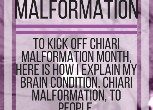 How I explain my brain condition, Chiari Malformation, to people. www.veroniiiica.com