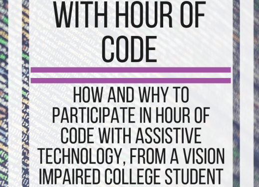 Using Assistive Technology with Hour of Code | Paths to