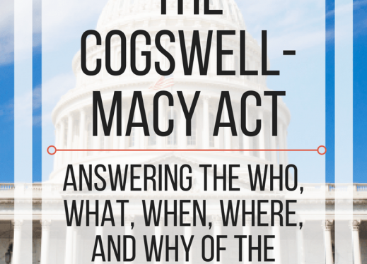 All about the Cogswell-Macy Act: answering the who, what, when, where & why of the Cogswell-Macy Act. www.veroniiiica.com