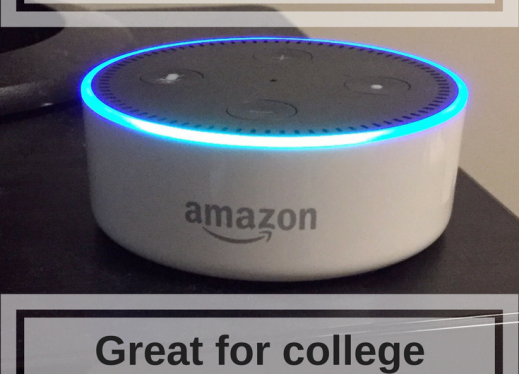 Amazon Alexa, Echo Dot Review: Great for College Students and Low Vision!