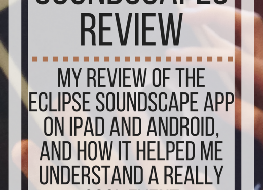 Eclipse Soundscapes Review: my review of the app & how it helped me understand a really cool event. www.veroniiiica.org