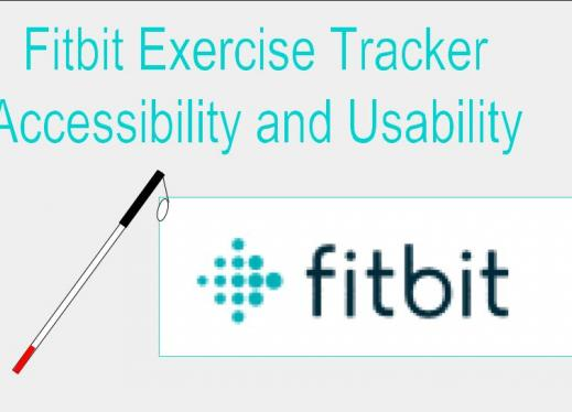 fitbit exercise tracker accessibility and usability part 1 paths