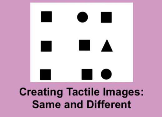 Photo of shape same and different worksheet with a given shape then two shape options.