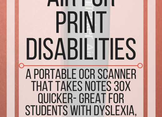 ScanMarker Air for Print Disabilities | Paths to Technology