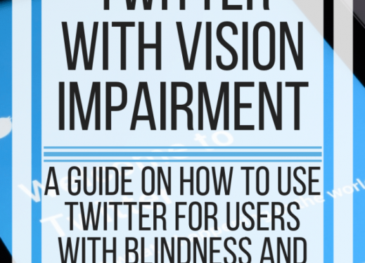 Using Twitter with Vision Impairment. www.veroniiiica.com