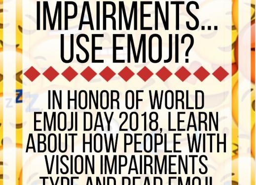 How Do People with Vision Impairments       Use Emoji? | Paths to