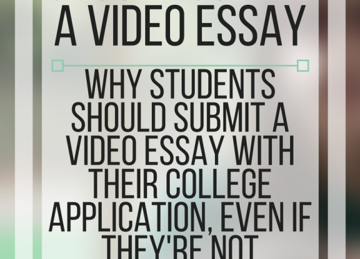 Why you should submit a video essay.  www.veroniiiica.com
