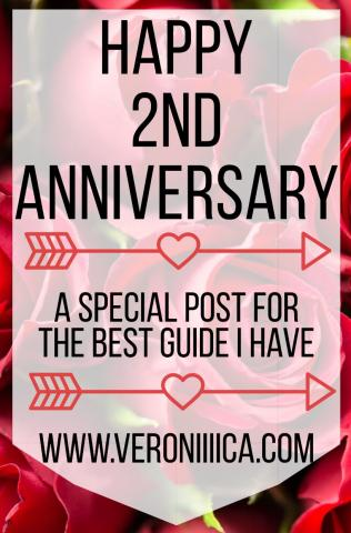 Happy 2nd anniversary: a special post for the best guide I have.  www.veroniiica.org