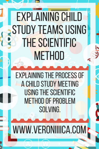 Explaining Child Study Teams using Scientific Method. www.veroniiiica.com