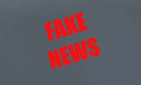"Image of text, ""Fake News"""