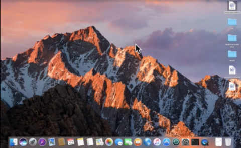Ste-by-step instructions on how to create a Word document on a Mac running VO