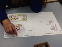 Using APH Life Science tactile graphics