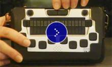 Image of a braille mini.