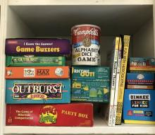 cupboard full of games