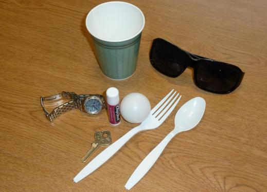 Assorted objects