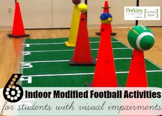 6 indoor modified football activities