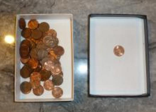 More or less pennies