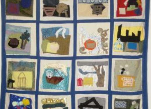 Image of tactile quilt