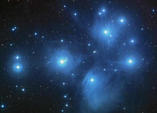 a group of stars