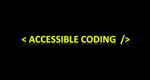 Accessible coding