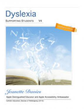 Cover of Dyslexia Supporting Students iBook
