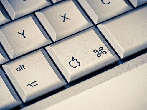 Mac keyboard: learning to use shortcut key commands