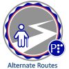 Micro-credential graphic for Alternate Routes.