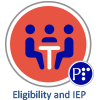 Eligibility and IEP badge