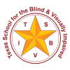 The logo for the Texas School for the Blind and Visually Impaired