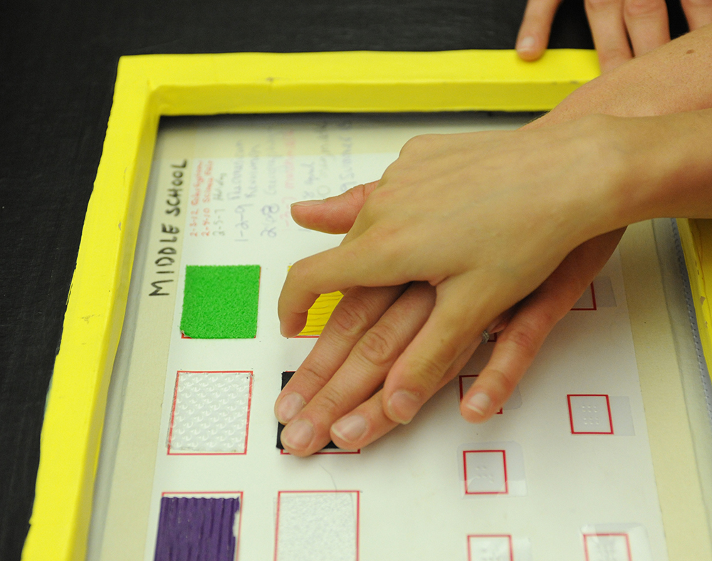 Tactile Graphics For Students Who Are Blind Or Visually