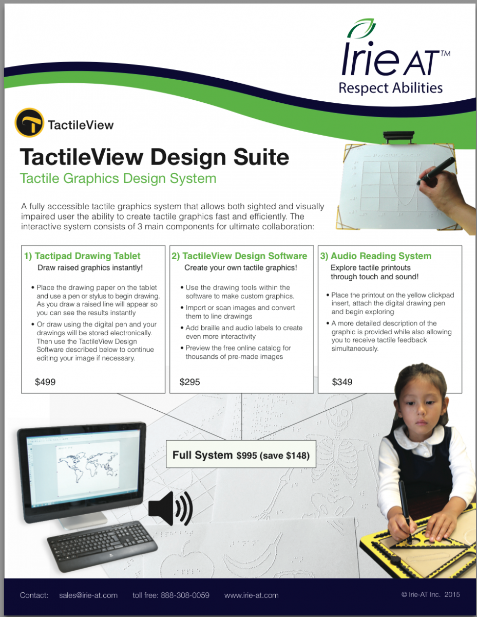 Tactile View Flyer