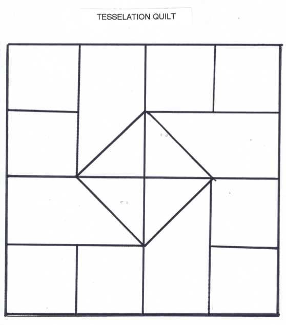 tessellating shapes templates - tessellations and quilts perkins elearning