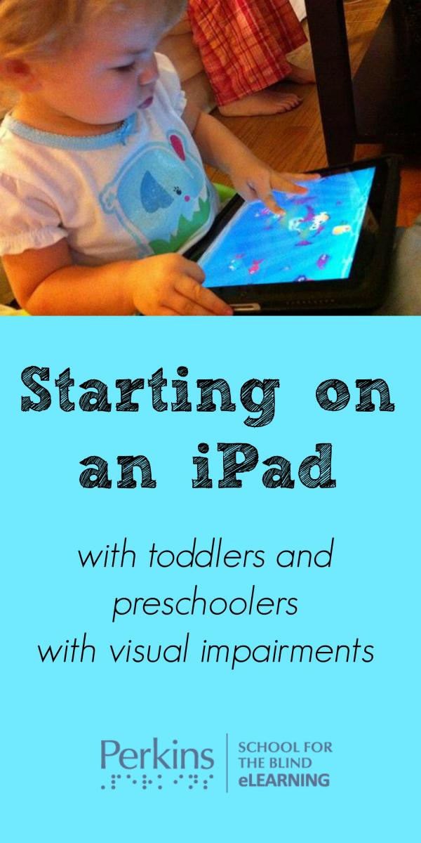 Pinterest collage for toddler on iPad