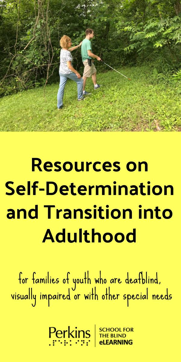 Collage of transition resources for families