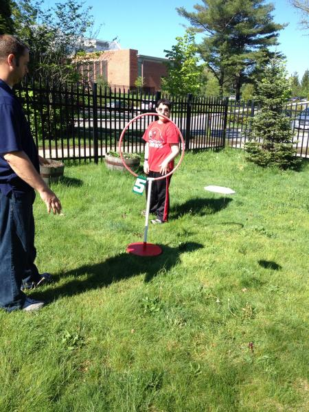 Modified Disc Golf For Students Who Are Blind Or Visually